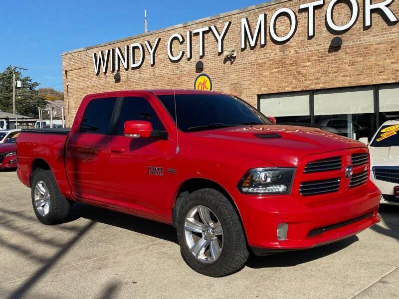 2013 RAM Ram Pickup 1500 for sale at Windy City Motors in Chicago IL