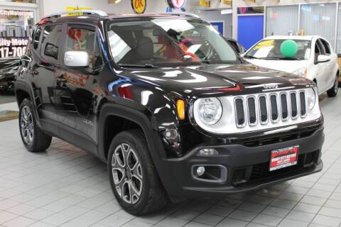 2015 Jeep Renegade for sale at Windy City Motors in Chicago IL