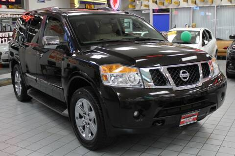 2012 Nissan Armada for sale at Windy City Motors in Chicago IL
