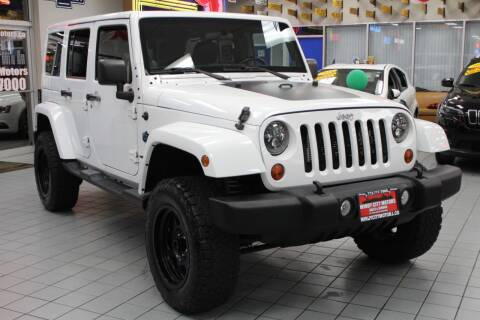 2012 Jeep Wrangler Unlimited for sale at Windy City Motors in Chicago IL