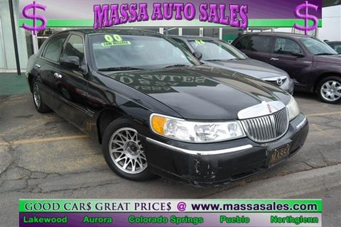2000 Lincoln Town Car for sale in Lakewood, CO