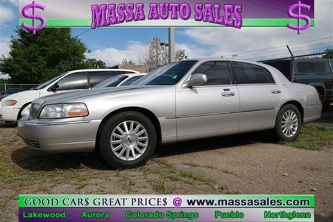 Lincoln Town Car For Sale In Colorado Carsforsale Com