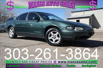 2000 Pontiac Grand Prix for sale in Lakewood, CO