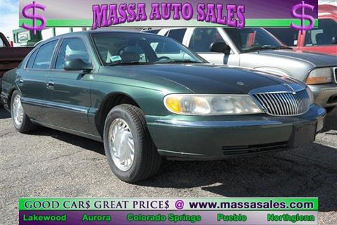 1998 Lincoln Continental for sale in Lakewood, CO