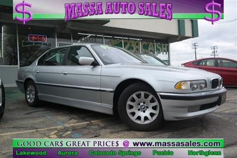 2001 BMW 7 Series for sale in Lakewood, CO
