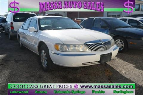 1999 Lincoln Continental for sale in Lakewood, CO