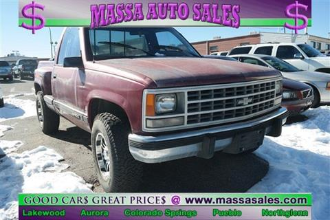 1988 Chevrolet C/K 1500 Series for sale in Lakewood, CO