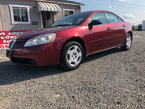 2008 Pontiac G6 for sale in Weirton, WV