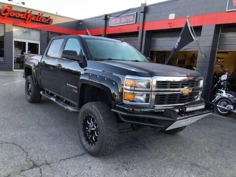 2014 Chevrolet Silverado 1500 for sale at Goodfella's  Motor Company in Tacoma WA