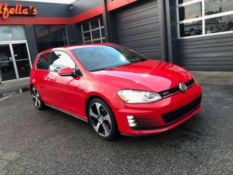 2016 Volkswagen Golf GTI for sale at Goodfella's  Motor Company in Tacoma WA