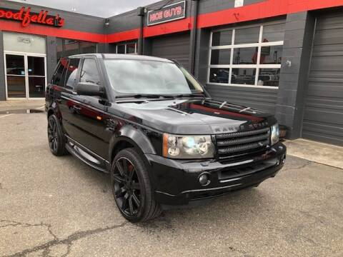 2008 Land Rover Range Rover Sport Supercharged for sale at Goodfella's  Motor Company in Tacoma WA