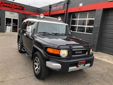 2008 Toyota FJ Cruiser for sale at Goodfella's  Motor Company in Tacoma WA