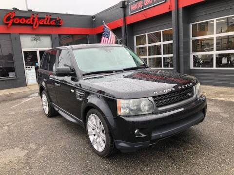 2010 Land Rover Range Rover Sport for sale at Goodfella's  Motor Company in Tacoma WA