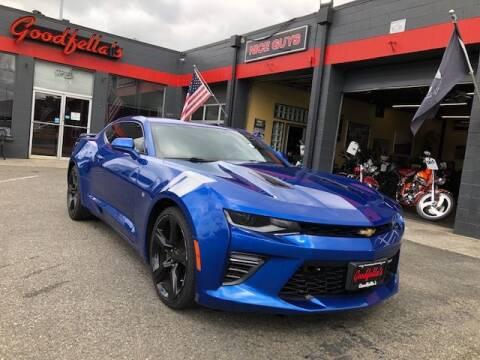 2017 Chevrolet Camaro for sale at Goodfella's  Motor Company in Tacoma WA