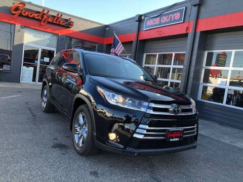 2018 Toyota Highlander for sale at Goodfella's  Motor Company in Tacoma WA