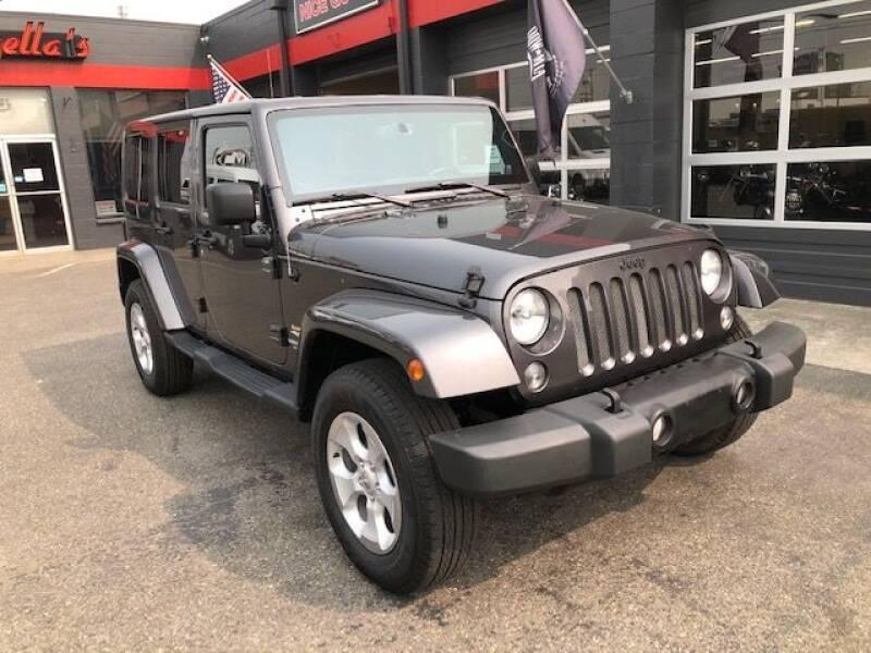 2014 Jeep Wrangler Unlimited for sale at Goodfella's  Motor Company in Tacoma WA