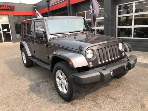2014 Jeep Wrangler Unlimited for sale at Goodfella's  Motor Company in Tacoma WA