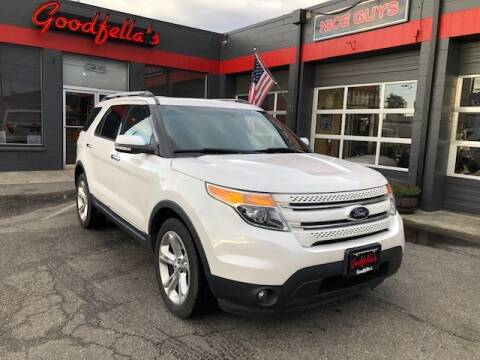 2014 Ford Explorer for sale at Goodfella's  Motor Company in Tacoma WA