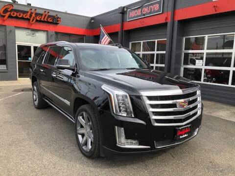 2016 Cadillac Escalade ESV for sale at Goodfella's  Motor Company in Tacoma WA
