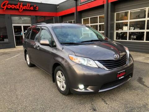 2011 Toyota Sienna for sale at Goodfella's  Motor Company in Tacoma WA