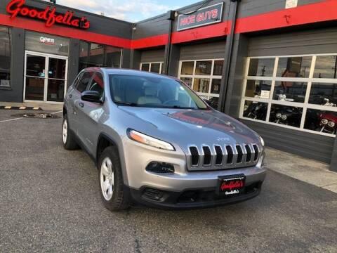 2016 Jeep Cherokee for sale at Goodfella's  Motor Company in Tacoma WA