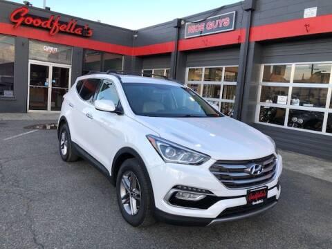 2017 Hyundai Santa Fe Sport for sale at Goodfella's  Motor Company in Tacoma WA