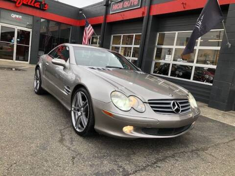 2004 Mercedes-Benz SL-Class for sale at Goodfella's  Motor Company in Tacoma WA