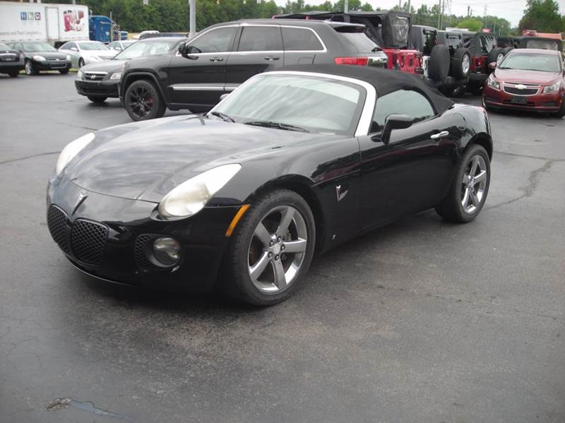 2007 Pontiac Solstice GXP 2dr Convertible   Madison IN