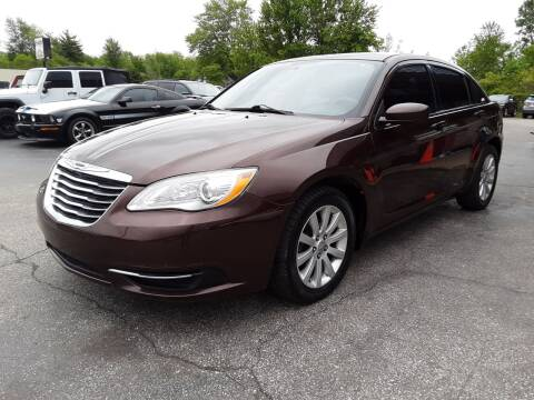 2013 Chrysler 200 Touring for sale at Cruisin' Auto Sales in Madison IN