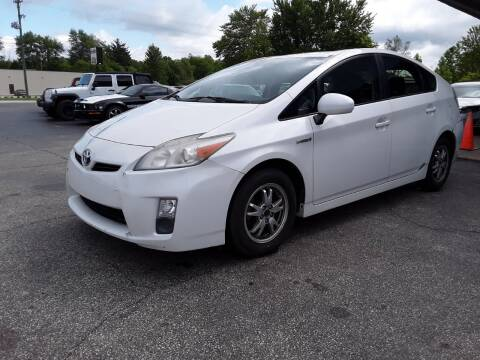 2010 Toyota Prius II for sale at Cruisin' Auto Sales in Madison IN