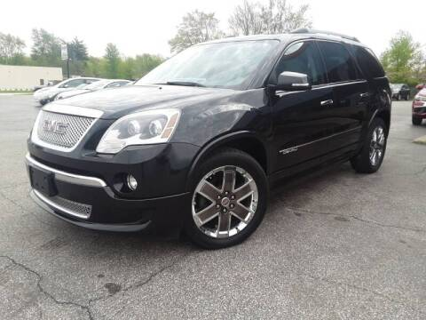 2012 GMC Acadia Denali for sale at Cruisin' Auto Sales in Madison IN