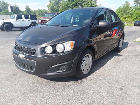 2014 Chevrolet Sonic LS Auto for sale at Cruisin' Auto Sales in Madison IN