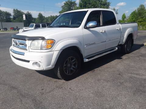 2004 Toyota Tundra SR5 for sale at Cruisin' Auto Sales in Madison IN