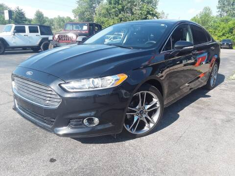 2015 Ford Fusion Titanium for sale at Cruisin' Auto Sales in Madison IN