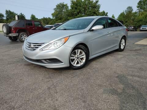 2014 Hyundai Sonata for sale at Cruisin' Auto Sales in Madison IN