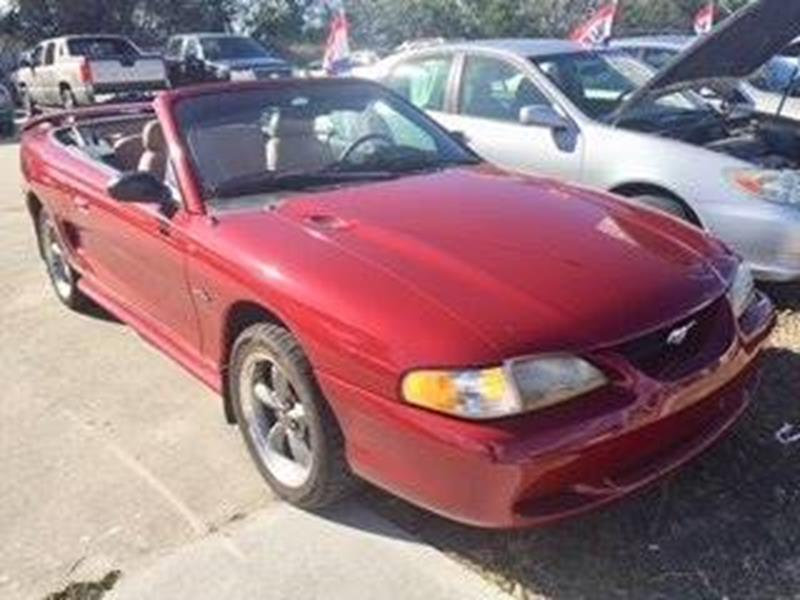 1996 Ford Mustang Gt 2dr Convertible In Cocoa Fl Car Nation