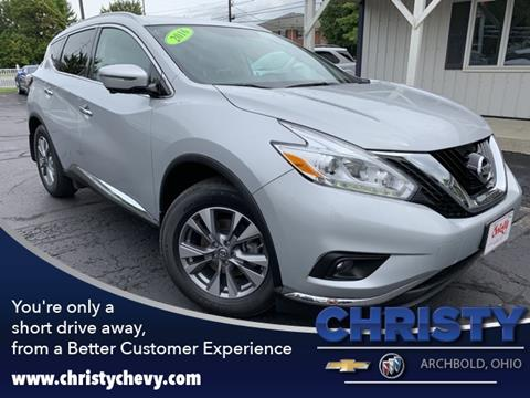 2016 Nissan Murano for sale in Archbold, OH