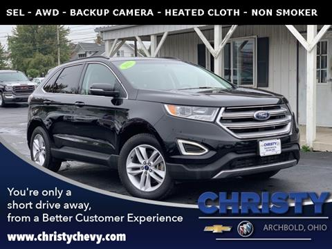 2017 Ford Edge for sale in Archbold, OH
