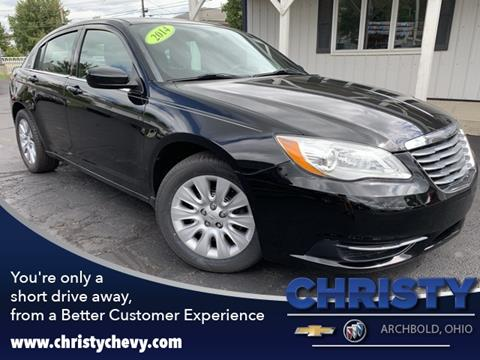 2014 Chrysler 200 for sale in Archbold, OH