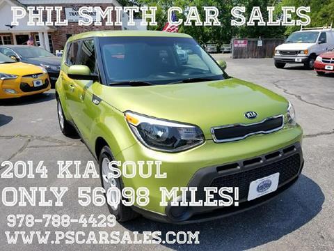 2014 Kia Soul for sale in North Chelmsford, MA