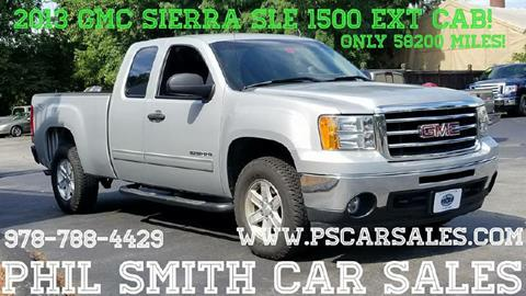 2013 GMC Sierra 1500 for sale in North Chelmsford, MA