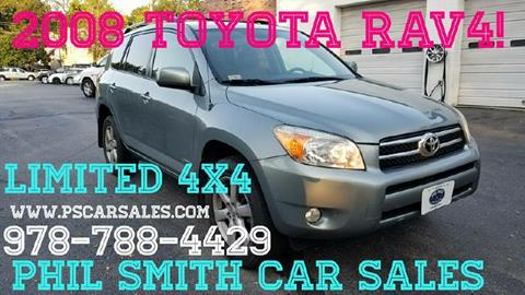 2008 Toyota RAV4 for sale in North Chelmsford, MA