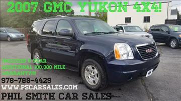 2007 GMC Yukon for sale in North Chelmsford, MA