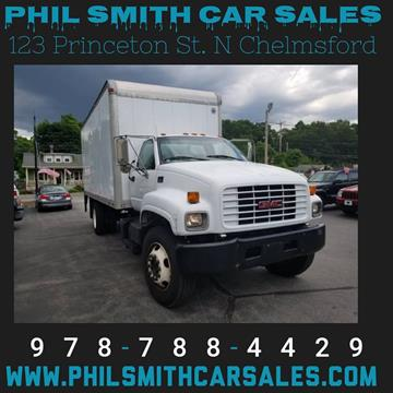 2002 GMC C7500 for sale in North Chelmsford, MA