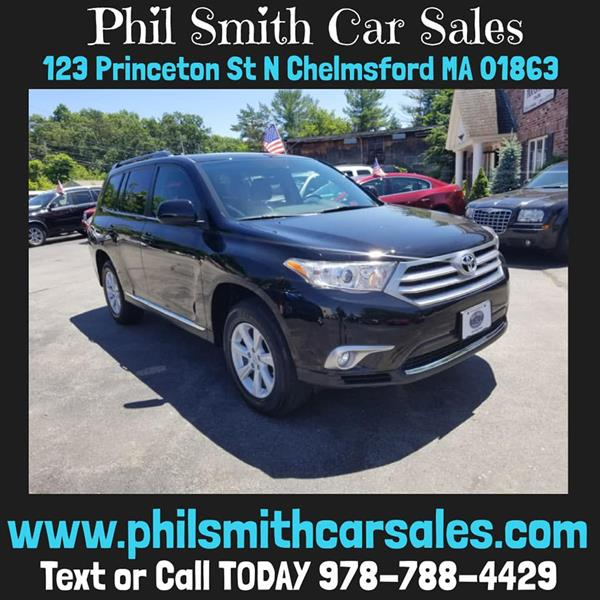 2012 Toyota Highlander For Sale >> 2012 Toyota Highlander Se In North Chelmsford Ma Phil Smith Car