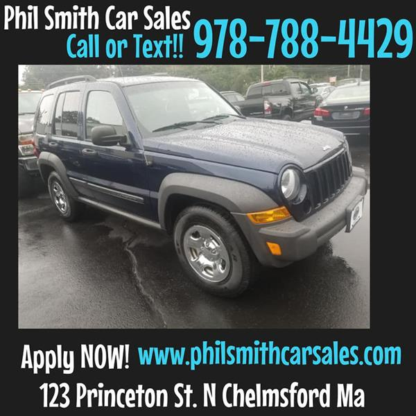 2007 Jeep Liberty For Sale At Phil Smith Car Sales / PS Car Sales In North