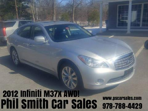 2012 Infiniti M37 for sale in North Chelmsford, MA