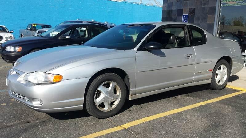 2000 Chevrolet Monte Carlo SS 2dr Coupe - Clinton Township MI