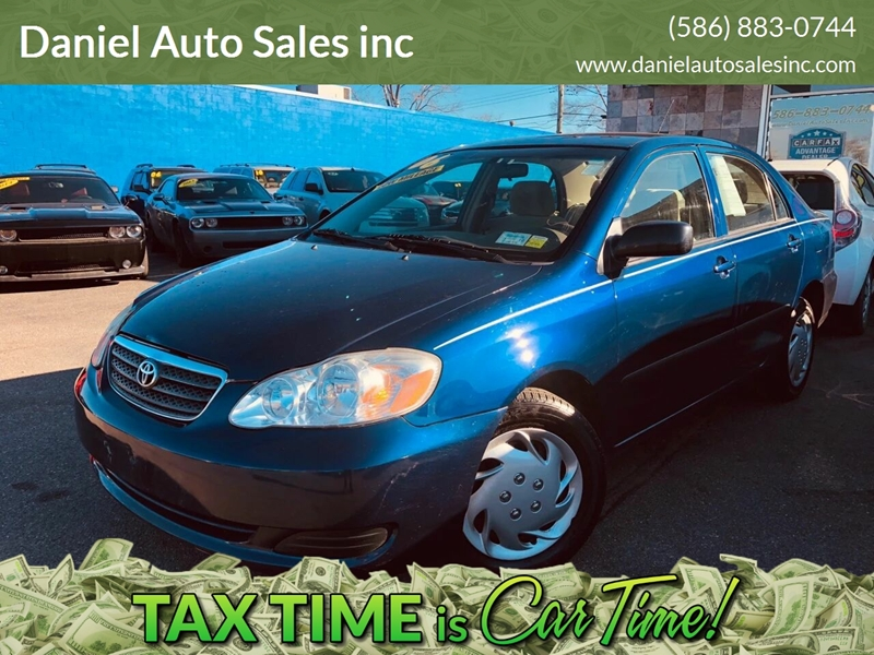 2006 Toyota Corolla car for sale in Detroit
