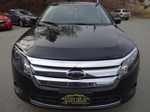 2010 Ford Fusion for sale in Lyndonville, VT